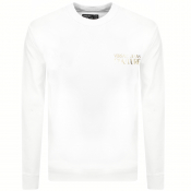 Versace Jeans Couture Logo Sweatshirt White