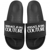 Versace Jeans Couture Logo Sliders Black