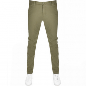 Levis Slim Taper Chinos Green