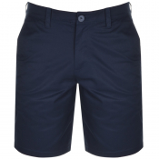 Armani Exchange Chino Shorts Navy