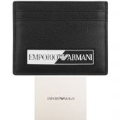 Emporio Armani Logo Card Holder Black