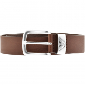 Emporio Armani Leather Belt Brown
