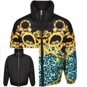 Versace Jeans Couture Reversible Down Jacket Black