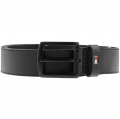 Tommy Hilfiger Denton Stripe Belt Black