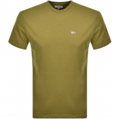 Tommy Jeans Classic T Shirt Green