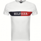 Tommy Hilfiger Block Stripe T Shirt White