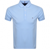 Tommy Hilfiger Slim Fit Polo T Shirt Blue