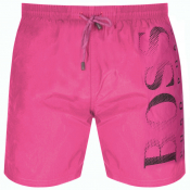 BOSS HUGO BOSS Octopus Swim Shorts Pink