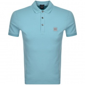 BOSS Casual Passenger Polo T Shirt Turquoise