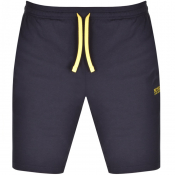 BOSS Bodywear Lounge Shorts Navy