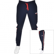 Emporio Armani Lounge Jogging Bottoms Navy