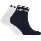 Lacoste Sport Two Pack Socks Navy