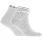 Lacoste Sport Two Pack Socks Grey