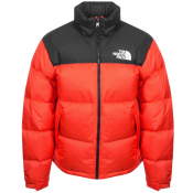 The North Face 1996 Nuptse Down Jacket Red