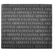Armani Exchange Bifold Logo Wallet Black
