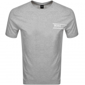 BOSS HUGO BOSS Lounge Crew Neck T Shirt Grey