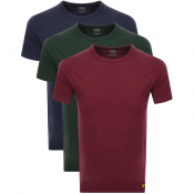 Lyle And Scott Three Pack T Shirts
