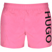HUGO ABAS Swim Shorts Pink