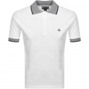 Vivienne Westwood Short Sleeved Polo T Shirt White