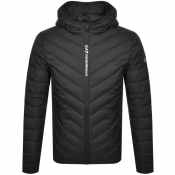EA7 Emporio Armani Quilted Down Jacket Black