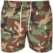 Ralph Lauren Swim Shorts Khaki