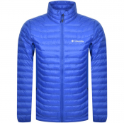 Columbia Powder Pass Down Jacket Blue