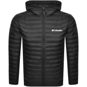 Columbia Powder Pass Down Hooded Jacket Black