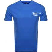BOSS HUGO BOSS Lounge Crew Neck T Shirt Blue