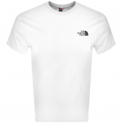 The North Face Simple Dome T Shirt White