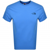 The North Face Simple Dome T Shirt Blue