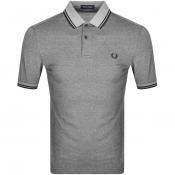 Fred Perry Twin Tipped Polo T Shirt Black
