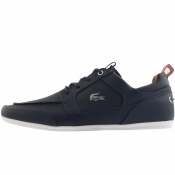 Lacoste Marina Trainers Navy