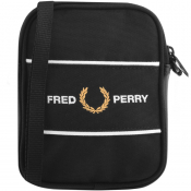 Fred Perry Logo Panel Bag Black
