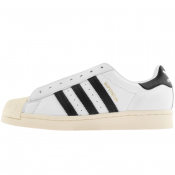 adidas Originals Superstar Laceless Trainers White