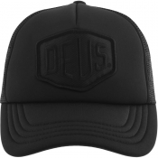 Deus Ex Machina Baylands Logo Trucker Cap Black