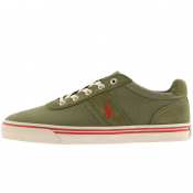Ralph Lauren Hanford Trainers Green