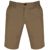BOSS Casual Schino Slim Shorts Brown