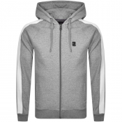Luke 1977 Paul Hammond Full Zip Hoodie Grey