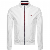 Tommy Jeans Essential Bomber Jacket White