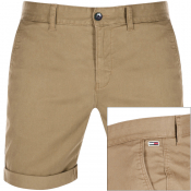Tommy Jeans Essential Chino Shorts Khaki