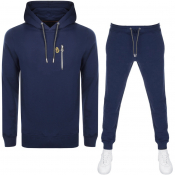 Luke 1977 Los Angeles Rome Tracksuit Navy