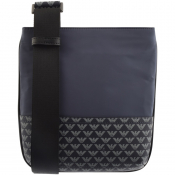 Emporio Armani Logo Shoulder Bag Navy