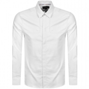 Aquascutum Batley Long Sleeve Shirt White