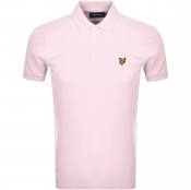 Lyle And Scott Short Sleeved Polo T Shirt Pink