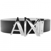 Armani Exchange Reversible Belt White