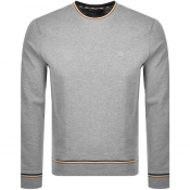 Aquascutum Wallace Crew Neck Sweatshirt Grey
