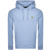 Lyle And Scott Pullover Hoodie Blue