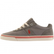 Ralph Lauren Hanford Trainers Grey