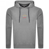 Paul And Shark Pullover Hoodie Grey