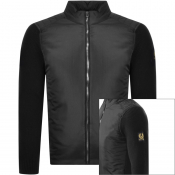 Belstaff Abbott Full Zip Knit Jumper Black